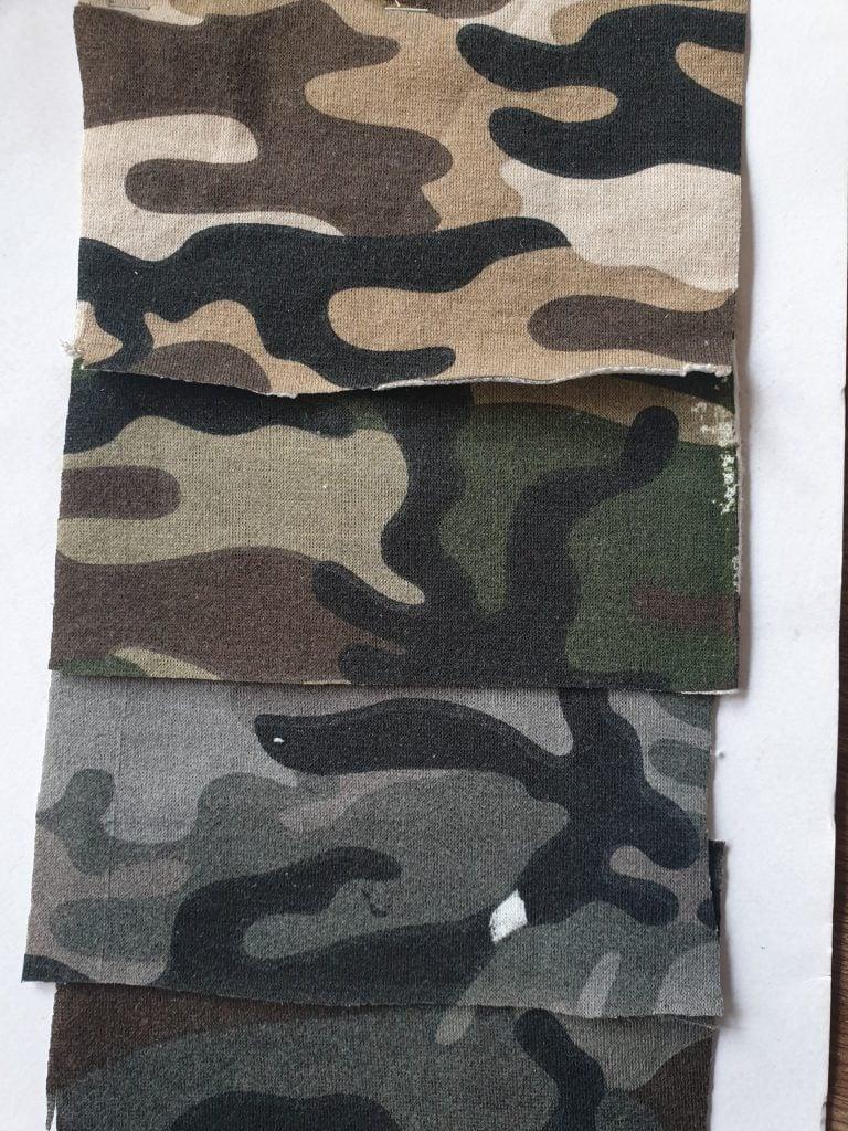 vải rằn ri quân đội