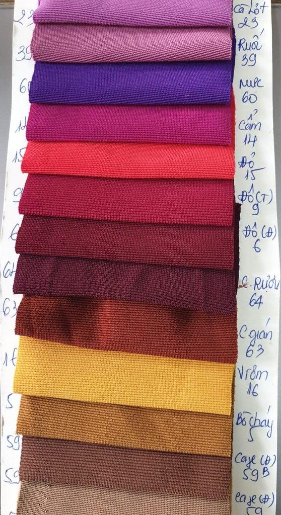 Vải thun poly 4 chiều chợ vải tân bình