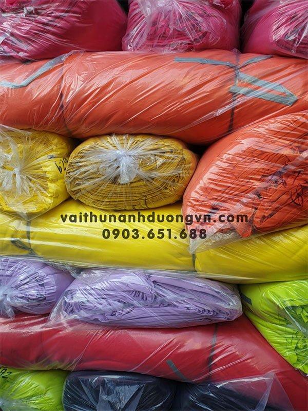 vải thun cotton 4 chiều cao cấp loại 1
